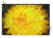 Flowery Acceptance In Abstract Carry-all Pouch