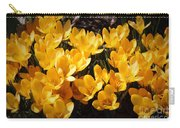 Flowery Sunshine Carry-all Pouch
