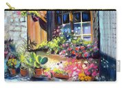 Flowery Window Of France Carry-all Pouch