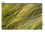 Flowing Green Grass  Abstract Carry-all Pouch