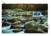 Flowing River On Greenbrier Cove Road Smoky Mountains National P Carry-all Pouch