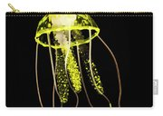 Flows Of Yellow Marine Life Carry-all Pouch