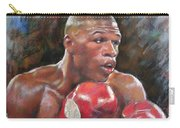 Floyd Mayweather Jr Carry-all Pouch by Ylli Haruni