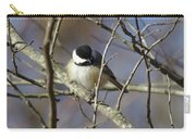 Fluffy Chickadee Carry-all Pouch