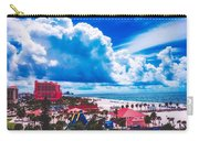 Fluffy Clouds Over Clearwater Beach Carry-all Pouch