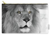 Fluffy Tango  Black And White  T O C Carry-all Pouch