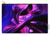Fluorescent Passions Abstract Carry-all Pouch