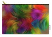 Flurry Flowers Carry-all Pouch