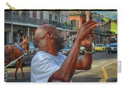 Flute Musician In New Orleans Carry-all Pouch
