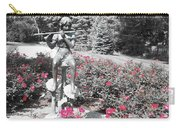 Flute Player - Two Toned Carry-all Pouch