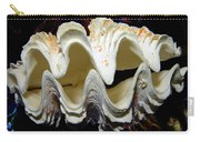 Fluted Giant Clam Shell Carry-all Pouch