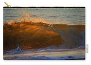 Flutter Of Amber Carry-all Pouch