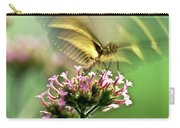 Fluttering Butterfly Carry-all Pouch by Heiko Koehrer-Wagner