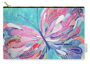 Fluttering Jewel Carry-all Pouch