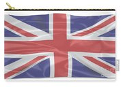 Fluttering Silk Union Jack Carry-all Pouch