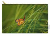 Fluttering Through The Summer Grass Carry-all Pouch