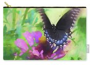 Fluttering Wings Of The Butterfly Carry-all Pouch