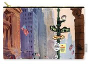Fly Bcpa To America Vintage Poster Restored Carry-all Pouch