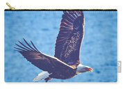 Fly By Eagle. 2 Of 3 Carry-all Pouch