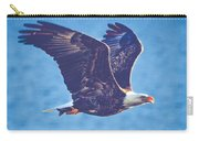 Fly By Eagle. 3 Of 3 Carry-all Pouch