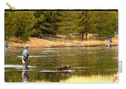 Fly Fishing On The Madison Carry-all Pouch