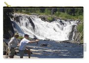 Fly Fishing The Lewis River Carry-all Pouch