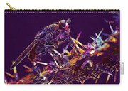 Fly Insect Nature Macro Close  Carry-all Pouch