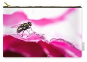 Fly Man's Floral Fantasy Carry-all Pouch by T Brian Jones