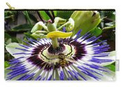 Fly On A Passion Flower Carry-all Pouch
