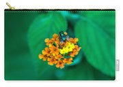 Fly On Flower Carry-all Pouch