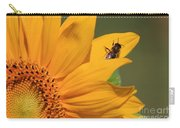 Fly On Sunflower Carry-all Pouch