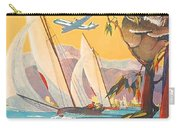 Fly To Australia And New Zealand, Airline Poster Carry-all Pouch