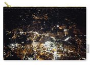 Flying At Night Over Cities Below Carry-all Pouch