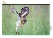 Flying Baby Burrowing Owl Carry-all Pouch