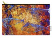 Flying Fish On Orange Carry-all Pouch
