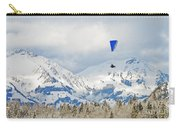 Flying High In Kandersteg, Switzerland Carry-all Pouch