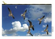 Flying High In The Clouds Carry-all Pouch