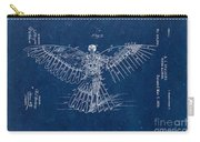 Flying Machine 1889 - Blue Carry-all Pouch
