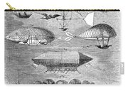 Flying Machines, 1856 Carry-all Pouch
