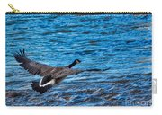 Flying Over Rough Waters Carry-all Pouch