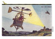 Flying Sentinel, 1900s French Postcard Carry-all Pouch