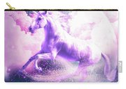 Flying Space Galaxy Unicorn Carry-all Pouch