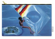 Flying Windsurfer Carry-all Pouch