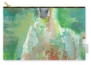 Foal  With Shades Of Green Carry-all Pouch