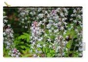 Foam Flower Tiarella Cordifolia Carry-all Pouch