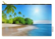 Focus On Palm Tree Carry-all Pouch