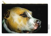 Focused Pitbull Carry-all Pouch