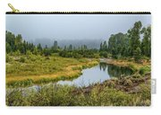 Fog At Schwabacher's Landing Carry-all Pouch
