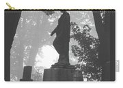 Fog In The Cemetery Carry-all Pouch
