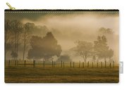 Fog In The Park Carry-all Pouch